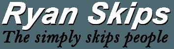 Ryan skip hire Logo